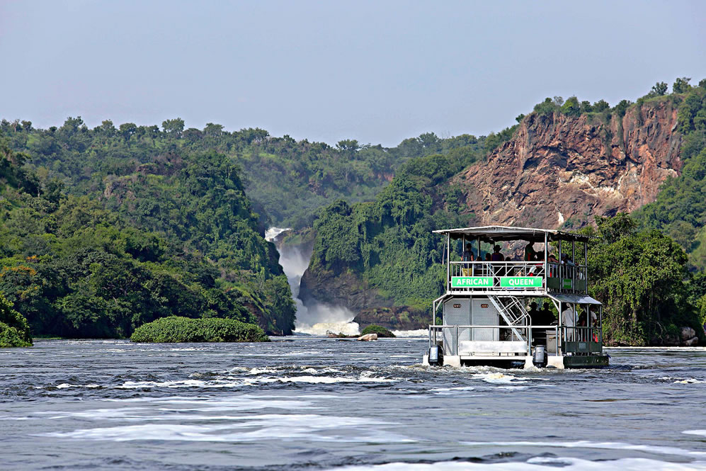 Boat Cruise to The Bottom of Murchison Falls