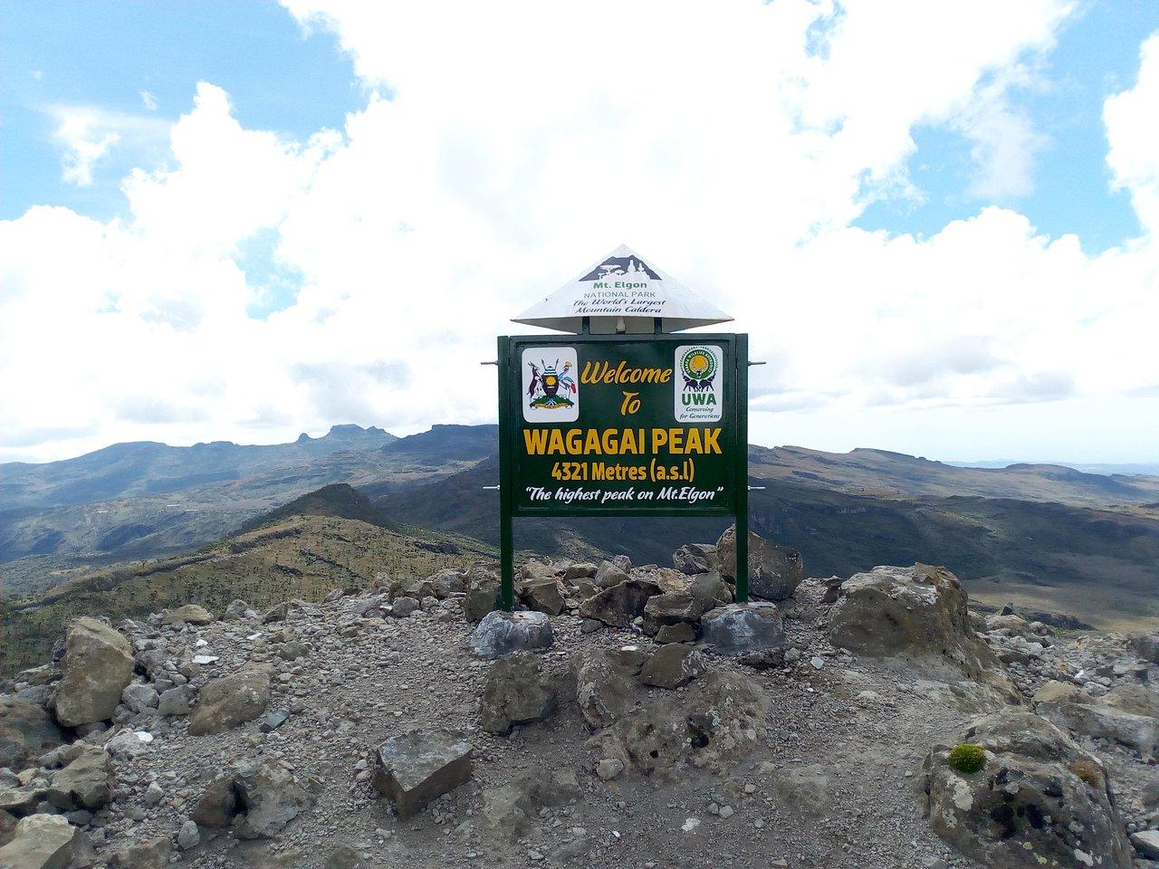Wagagai Peak - Mount Elgon N.P
